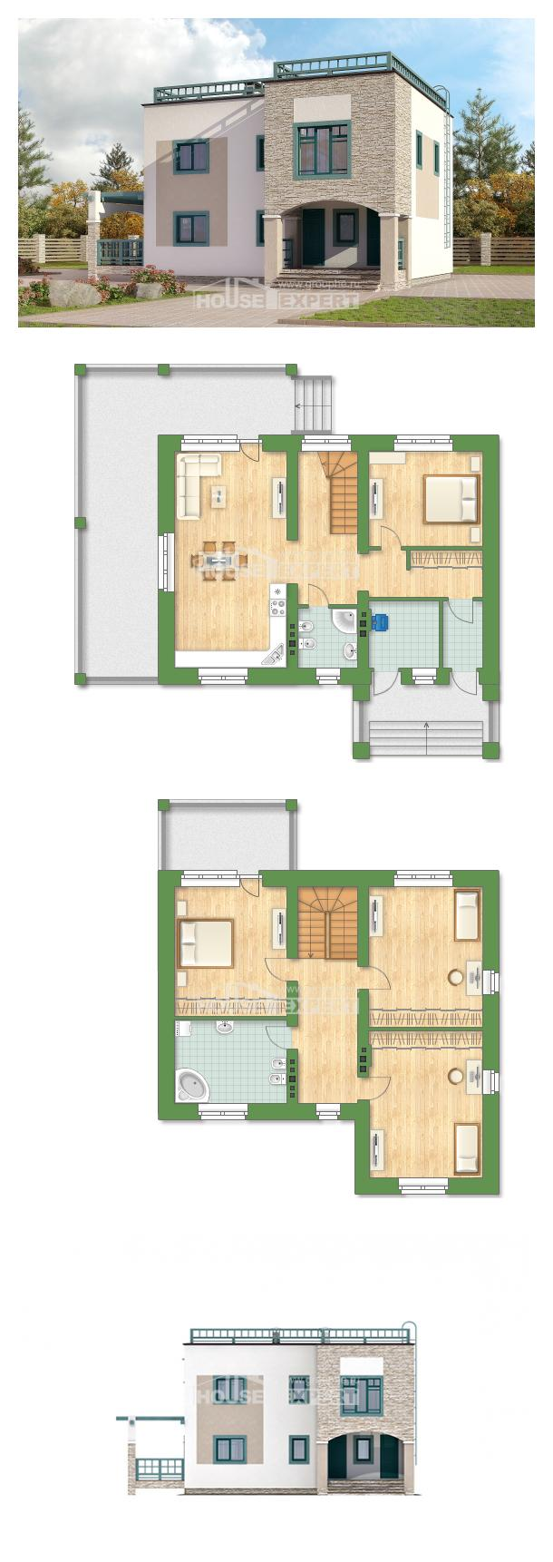 Проект дома 150-010-П   House Expert